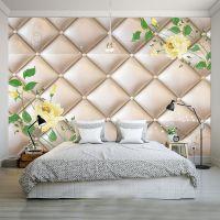 欧式软包3D立体沙发背景墙纸 客厅电视床头影视墙无纺布墙布