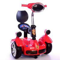 儿童电动平衡车四轮带遥控灯光音乐摩托车童车自行车礼品批发