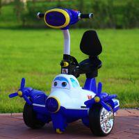 厂家直销新款儿童遥控平衡车可坐可玩四轮电动车童车玩具一件代发