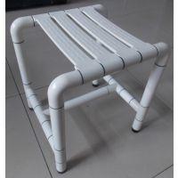 厂家直销尼龙不锈钢506可移动浴凳 老年人洗澡折叠椅