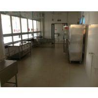 工厂食堂不锈钢台面 水洗池 碗柜