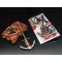 堡垒之夜FORTNITE周边 深渊海锚陀螺二件套 玩具模型 合金武器