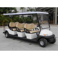 惠州厂家出售电动观光车,高尔夫球车8座。白色