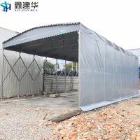 石淙镇简易钢管雨棚布寿命 物流推拉篷图片 南浔遮阳蓬多少钱一米