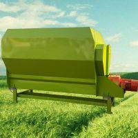 电子秤称重tmr饲料搅拌机/运输方便粉碎秸秆混合机