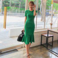 一三国际杭州尾货品牌女装批发市场在哪里进货折扣女装 杭州尾货服装批发市场在哪里批发粉色旗袍唐装
