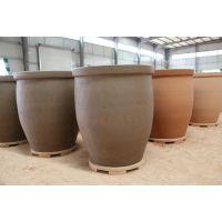顺龙陶业供应1吨发酵缸 超大陶缸 腌制大陶缸 天然环保大缸