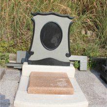 供应福建芝麻黑石材墓碑雕刻品 标准选材 成色纯正 支持来样定做