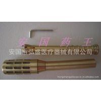 特大号可拆卸纯铜温灸棒 艾灸棒 艾灸器具艾炙棒 用17-21mm艾条