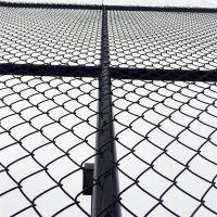 动物园围栏网 篮球场勾花护栏 安平护栏网厂家