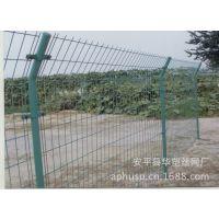 【现货供应】圈地护栏、便宜护栏、双边丝护栏网、pvc包塑护栏