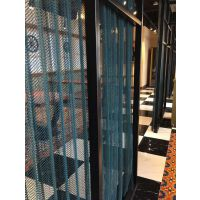 河南加工定做304不锈钢菱形输送网带 勾花网 装饰网帘 幕墙装饰网
