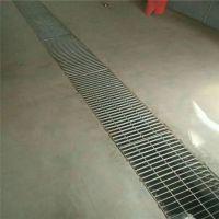 沟盖钢格栅 洗车格栅踏步板 楼梯钢格栅板