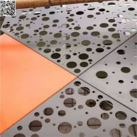 浙江冲孔铝单板一平方米多少钱 外墙冲孔氟碳铝单板图片 欧百得