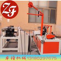 卓锋山东专业生产出口标准半自动轧花网机