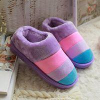 冬天情侣室内家用男女保暖软底拖鞋家居家用厚底防水防滑拖鞋冬