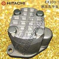 日立200-1先导泵 HITACHI/汕尾日立钩机配件EX200-1尾泵