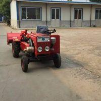 高性能四轮拖拉机带旋耕机 果园超低矮四轮拖拉机 农田打田机