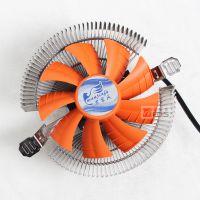 雪豹多平台台式机电脑CPU散热器超静音CPU风扇775AMDIntel1155