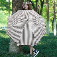 黑胶超大全自动纯色晴雨伞 黑胶 50+超防晒2用折叠伞三人伞双人伞