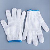 优质加密耐磨防护手套 劳保棉纱手套 线手套批发白色作业手套