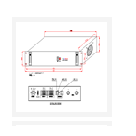 中西 正弦波逆变电源 型号:SZKT-CT220/220-4000L/W库号:M402903