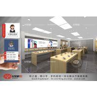 华为3.5店铺效果图设计,华为专卖店平面展示规划