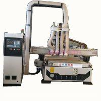 板式家具全自动1325四工序开料机数控开料机厂家京蓝木工开料机