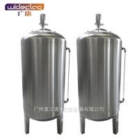 厂家直销 广旗牌不锈钢双面抛光无菌纯水箱 纯净水储蓄罐