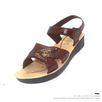 厂家直销2018夏季新款女士凉鞋跑江湖越南复古凉鞋中年妈妈鞋沙滩