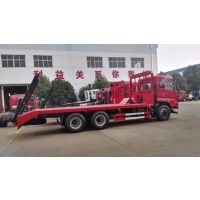 200挖掘机平板运输车拖车价格