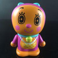 多拉A梦百周年纪念版手办 PVC塑胶公仔玩具 搪胶公仔汽车精品摆件