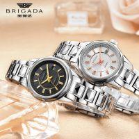 宝茄达时尚女士腕表日本进口机芯钨钢全自动机械表广东手表厂家