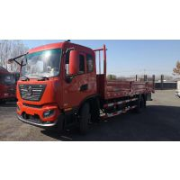 北京东风天锦KR国五2 6.8米平板高栏厢车翼展货车专卖销售139101 78882