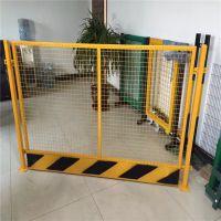 临边安全防护网 基坑护栏厂家 地铁施工浸塑围栏