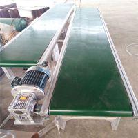 爬坡铝合金输送机带防尘罩 轻型运输机
