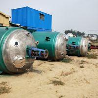 供应二手5000L不锈钢反应釜电加热外盘管反应釜