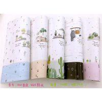 卡通生日礼品礼物防水包装纸儿童节幼儿园装饰背景墙纸手工diy纸