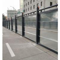 广东新型钢结构钢板围挡 镀锌板H型工字钢围蔽围墙广州市政专用围蔽挡板