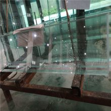 泉州超白玻璃厂家 5-19mm高透超白钢化玻璃定制加工