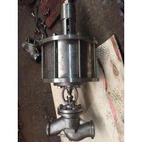 J661W-64P DN100不锈钢气动焊接截止阀
