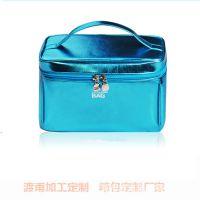 厂家ODM定制  手提化妆包   韩版莹彩化妆包  大容量化妆箱