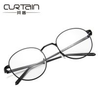 新款复古圆形金属眼镜框9729潮流可配近视平光镜文艺学生眼镜开球