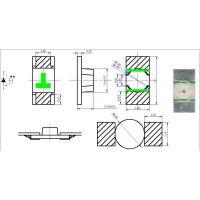 贴片led1206-1.1厚反包装
