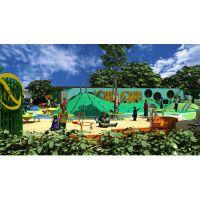 户外趣味无动力儿童游乐场整体规划定制 游乐设备厂家直销安装