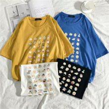 工厂几元女士T恤韩版女装服装广州沙河便宜服装批发