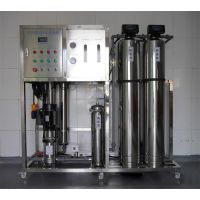 郑州专业水处理设备厂家诚信加工0.25吨双级反渗透纯水设备 食品行业净水装置 亮晶晶老品牌信赖之选