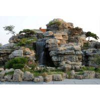 围场县真石假山水景工程施工 水泥塑山造型各异 价格低廉