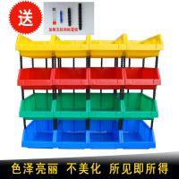 包邮3#塑料螺丝盒加厚组合式五金零件元件盒塑胶小型仓储货架特价