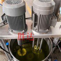 胜达sd-ytjbg电动纳米级不锈钢搅拌罐车用香精液体反应釜食品级奶茶搅拌桶